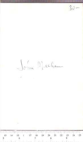 Songs of a Chimney Swallow: Meehan, John