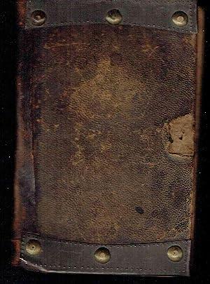 Ein Unparthenisches Gesang-Buch, zum allgemeinen Gebrauch des Wahren Gottesdienstes, Mit einem ...