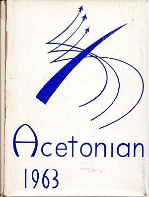 Van Buren High School Acetonian Yearbook, 1963: Journalism Staff (Eds.)