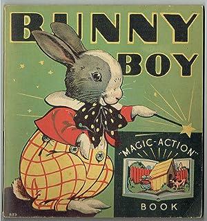 Bunny Boy Magic Action Book: Staff Artists