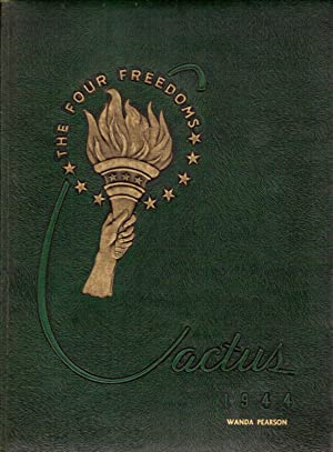 Marion High School Cactus Yearbook, 1944: The Four Freedoms: Senior Class (Eds.)
