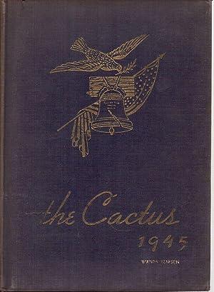 1945 Yearbook: Marion High School, Cactus: Yearbook Staff