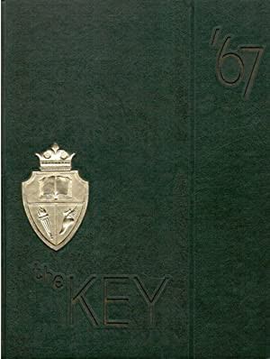 Angola High School Key Yearbook, Volume 46, 1967: Senior Class (Eds.)