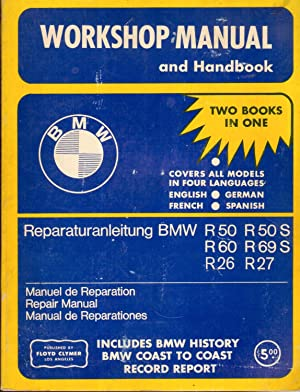BMW Workshop Manual and Handbook, Covers All