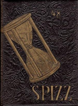 """Wayne State Teachers College Spizzerinktum """"Spizz"""" Yearbook, 1948: Johnson, Connie (Ed.)"""