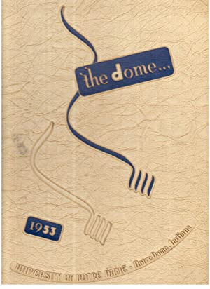 University of Notre Dame Dome Yearbook, Volume 44, 1953: Meaney, Francis X et al. (Eds.)