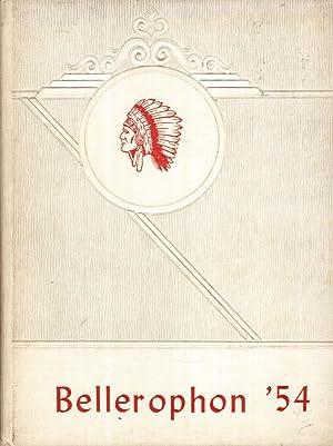 Convoy Union High School Bellerophon Yearbook, 1954: Senior Class (Eds.)