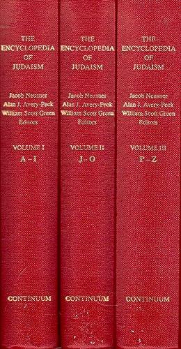 The Encyclopedia of Judaism, in Three Volumes: Neusner, Jacob et al. (Eds.)