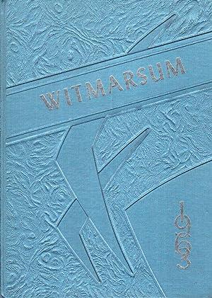 Bethany Christian High School Witmarsum 1963 Yearbook: Senior Class (Eds.)