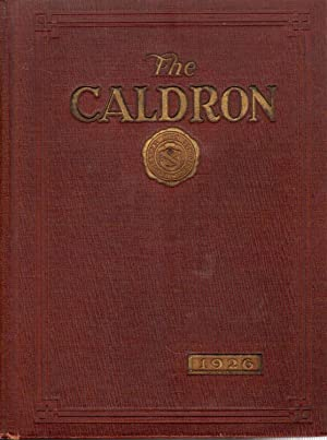 The Caldron, Fort Wayne Central High School Yearbook, 1926
