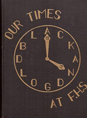 Fairmount High School Black and Gold Yearbook, 1947