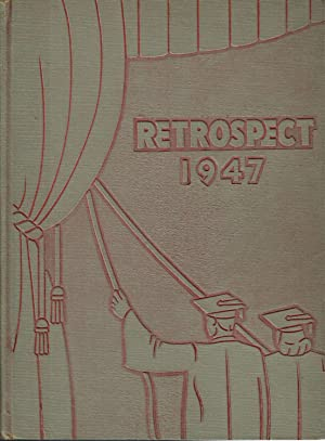 The Retrospect, Allen High School Yearbook, 1947: A 3-Act Play: Hamilton. Jane et al. (Eds.)