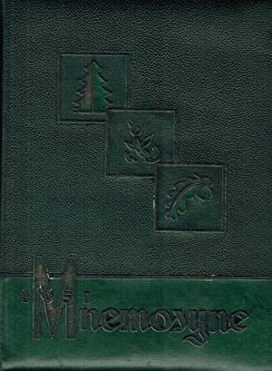 Huntington College Mnemosyne Yearbook, 1951: Seasons in Review