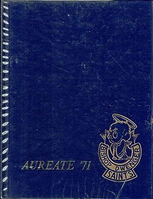 Bishop Dwenger High School Aureate Yearbook, Volume 5,1971: Citizens of Two Worlds