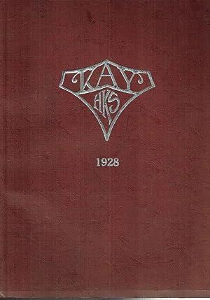 The Kay: Kirlin High School Yearbook, Volume Eight, 1928