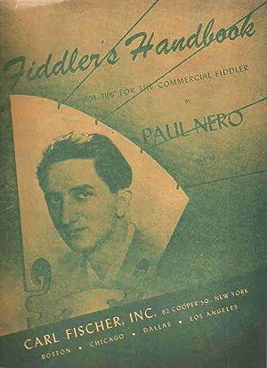 Fiddler's Handbook, Hot Tips for the Commercial: Nero, Paul