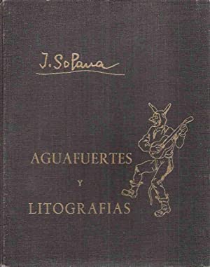Aguafuertes y Litografias, Obra Completa: Solana, Jose Gutierrez