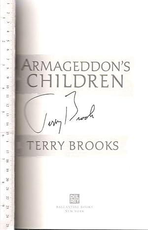 Armageddon's Children: Brooks, Terry