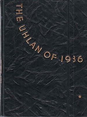 The Uhlan of 1939, Valparaiso University Yearbook: Little, Harry (Ed.)