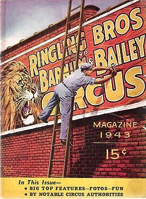 Ringling Bros and Barnum & Bailey Circus Magazine & Program, 1943 Edition