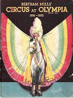 Bertram Mills' Circus at Olympia Grand Hall, 1931-1932