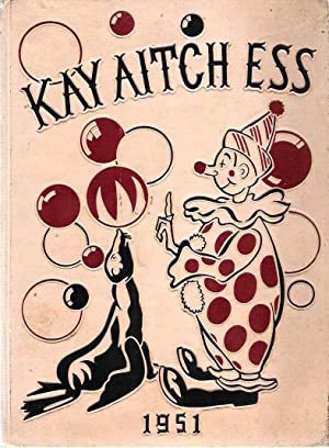 Kay Aitch Ess, Kendallville High School Yearbook, Volume 39, 1951
