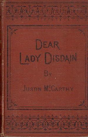 Dear Lady Disdain, a Novel: McCarthy, Justin