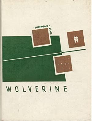 The Wolverine, Michigan State College Yearbook, Volume 51, 1951: Brown, Jim (Ed.)