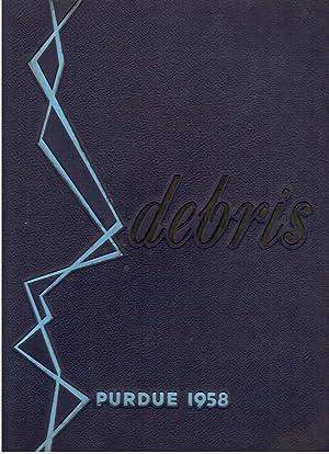 Debris, Purdue University Yearbook, 1958: Osterhoff, Jim (Ed.)