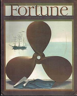Fortune Magazine, October, 1940: Volume XXII, Number 4: Chamerlain, John et al. (Eds.)