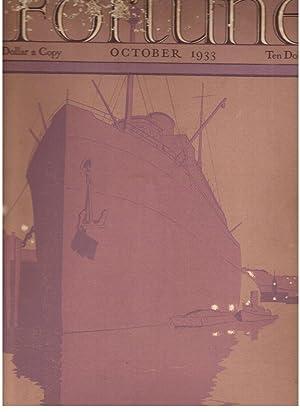 Fortune Magazine, October, 1933: Volume VIII, Number 4: Luce, Henry R. et al. (Eds.)
