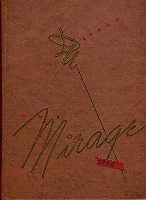 Mirage, Depauw University Yearbook, 1944: Senior Class (Eds.)