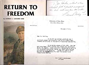 Return to Freedom: The War Memoirs of Col. Samuel C. Grashio, USAF (Ret.): Grashio, Samuel C. and ...