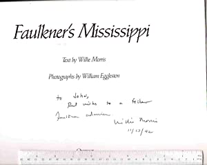 Faulkner's Mississippi: Morris, Willie