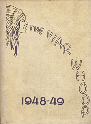 The War Whoop, Chester Center High School Yearbook, 1948-1949: Journalism Class, Chester Center ...