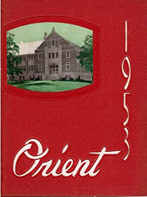The Orient, Ball State Teachers College 1953 Yearbook, Muncie Indiana: Mantock, Bob et al. (Eds.)