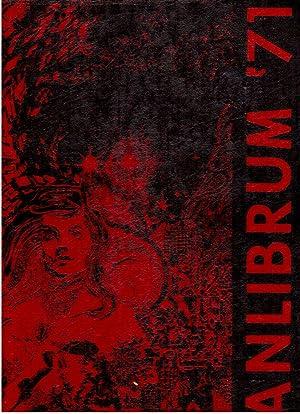 Elmhurst High School Anlibrum Yearbook, Volume 38, 1971: Senior Class (Eds.)