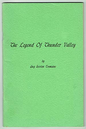 The Legend of Thunder Valley, a Tale of Pioneer Days in Montgomery County, Indiana, Written in ...