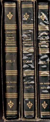Monete Italiane Medioevali e Moderne, Volume I: Casa Savoia, Parte I: da Oddone-Conte (1056) a ...