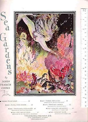 Sea Gardens, a Romance, Piano Solo: Cooke, James Francis