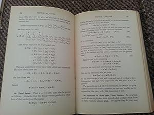 Vector Analysis: Joseph George Coffin