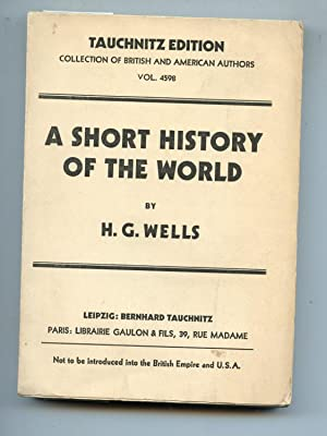 Short History of the World: H. G. Wells