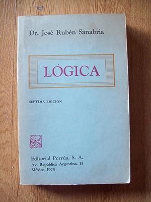 LÓGICA: Sanabria, José Rubén