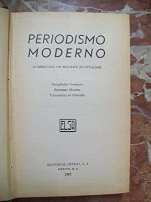 PERIODISMO MODERNO. Committee on Modern Journalism: VV.AA.
