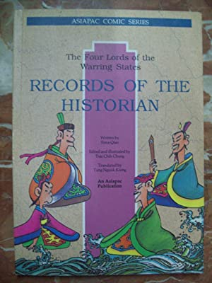 RECORDS OF THE HISTORIAN. THE FOUR LORDS OF THE WARRING STATES