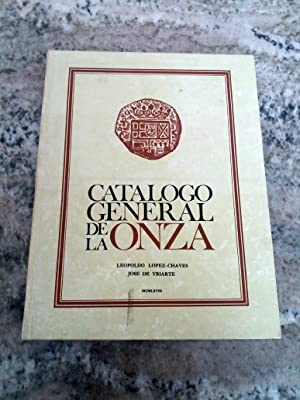 CATALOGO GENERAL DE LA ONZA