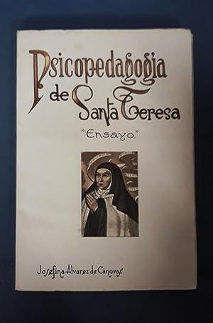 PSICOPEDAGOGIA DE SANTA TERESA: Josefina Alvarez Cánovas