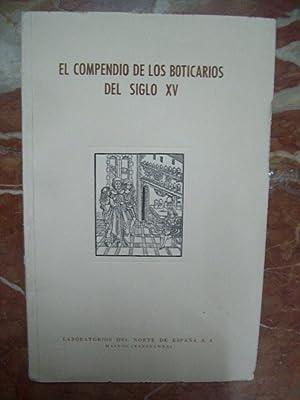 EL COMPENDIO DE LOS BOTICARIOS DEL SIGLO XV: Saladino, Dr.