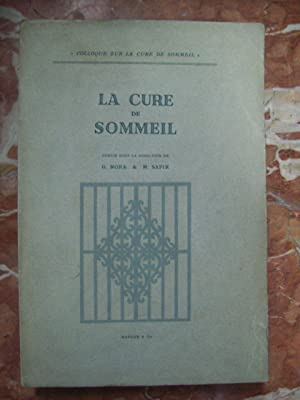 LA CURE DE SOMMEIL: Nora, G. y M. Sapir
