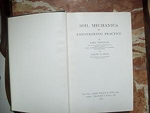 SOIL MECHANICS IN ENGINEERING PRACTICE: Terzaghi, Karl y